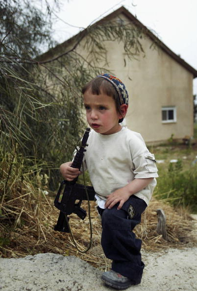 Skull Cap「West Bank Settlers Build New Homes In Defiance Of Impending Withdrawl」:写真・画像(6)[壁紙.com]