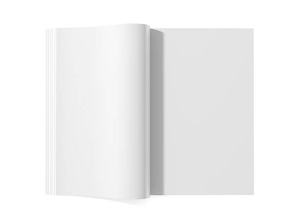 Blank magazine book for white pages:スマホ壁紙(壁紙.com)