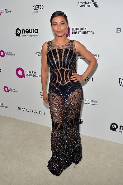 Sleeveless Dress「Neuro At 24th Annual Elton John AIDS Foundation's Oscar Viewing Party」:写真・画像(11)[壁紙.com]