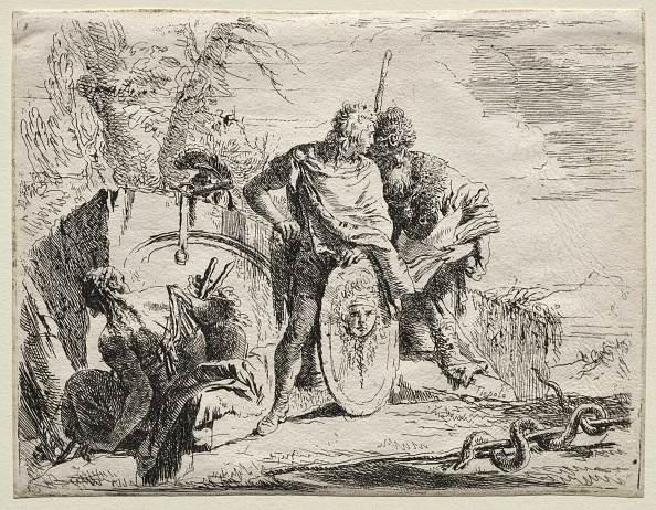 Etching「Various Caprices: The Astrologen And The Young Soldier. Creator: Giovanni Battista Tiepolo (Italian」:写真・画像(18)[壁紙.com]