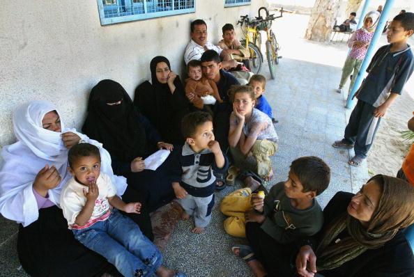 Rafah「UN School Used For Housing By Palestinian Homeless In Rafah」:写真・画像(15)[壁紙.com]