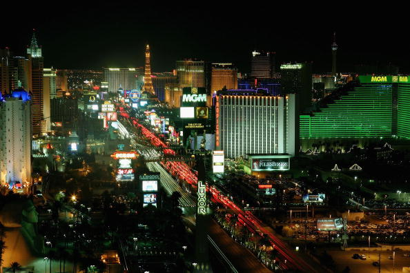 夜景「Las Vegas Strip Exteriors」:写真・画像(14)[壁紙.com]
