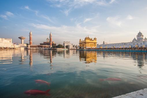Punjab - India「The Golden Temple at Amritsar」:スマホ壁紙(8)