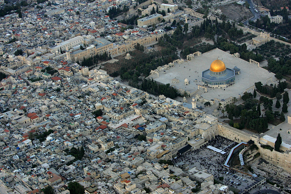 Jerusalem「Aerial Views Of Jerusalem?s Old City」:写真・画像(1)[壁紙.com]
