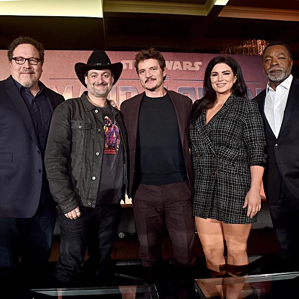 The Mandalorian - TV Show「Press Conference for the Disney+ Exclusive Series The Mandalorian」:写真・画像(7)[壁紙.com]