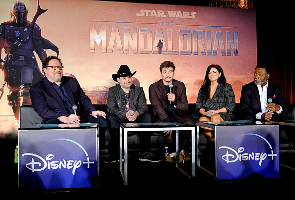 The Mandalorian - TV Show「Press Conference for the Disney+ Exclusive Series The Mandalorian」:写真・画像(3)[壁紙.com]