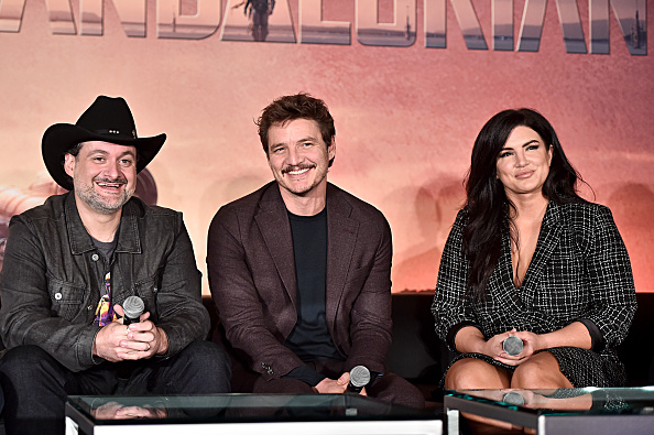 Gina Carano「Press Conference for the Disney+ Exclusive Series The Mandalorian」:写真・画像(17)[壁紙.com]