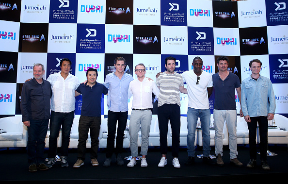 Francois Nel「Star Trek Beyond - Dubai Press Conference」:写真・画像(3)[壁紙.com]