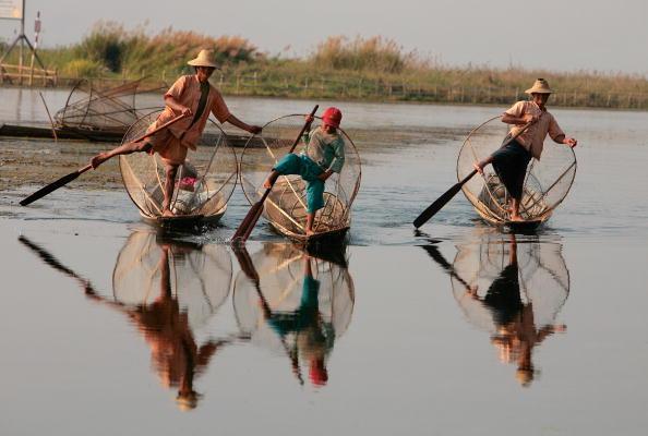 Fisherman「Myanmar At A Glance」:写真・画像(9)[壁紙.com]
