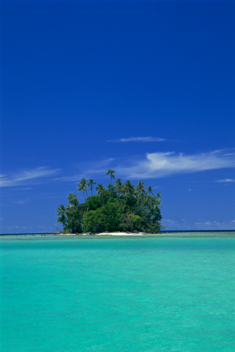 ソロモン諸島「Uninhabited Coral Island (between Munda and Lola Is.), Solomon Islands」:スマホ壁紙(6)