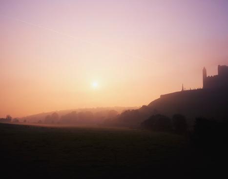 Abbey - Monastery「ock of Cashel at sunset」:スマホ壁紙(15)