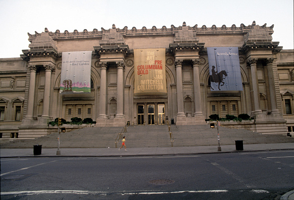 Metropolitan Museum Of Art - New York City「The Facade Of The Metropolitan Museum Of Art...」:写真・画像(15)[壁紙.com]