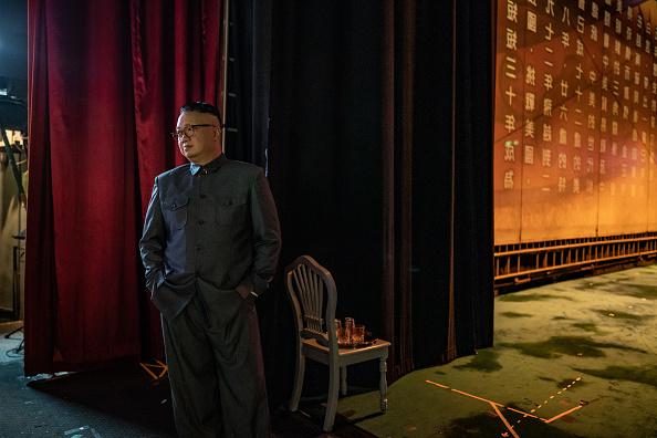 Feng Shui「Donald Trump and Mao Zedong Impersonators Meet In Hong Kong」:写真・画像(9)[壁紙.com]