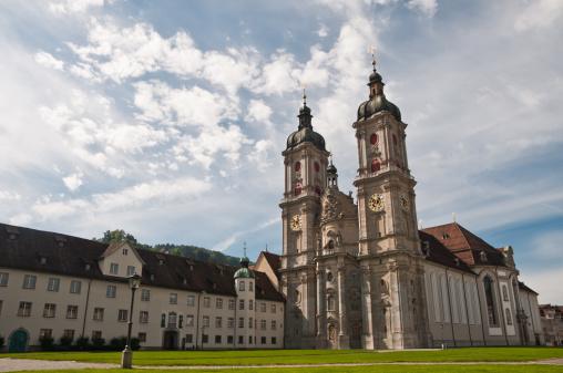 Abbey - Monastery「Abbey of St. Gallen, Switzerland」:スマホ壁紙(4)