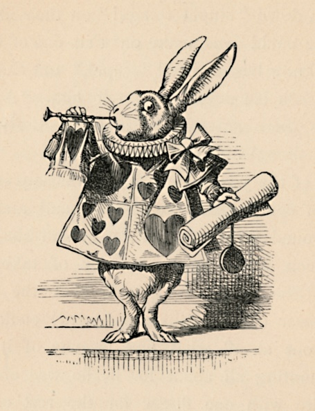 動物「A Rabbit As Court Official Blowing A Trumpet For An Announcement, 1889」:写真・画像(12)[壁紙.com]