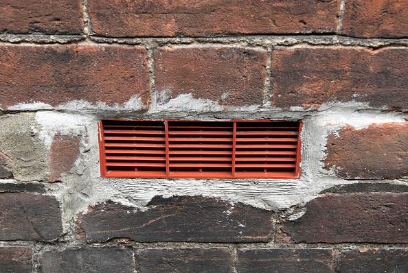 Brick Wall「Air-vent on a house」:写真・画像(14)[壁紙.com]