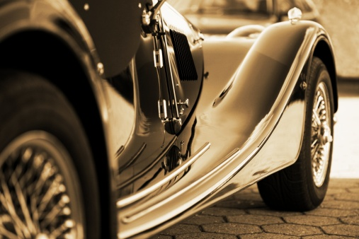 Wheel「Oldtimer Side view sepia toned outdoor shot」:スマホ壁紙(7)