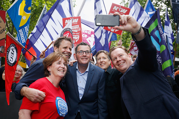 Darrian Traynor「Thousands March Through Melbourne CBD Calling For Better Wages」:写真・画像(2)[壁紙.com]