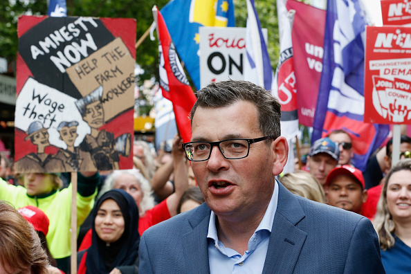 Darrian Traynor「Thousands March Through Melbourne CBD Calling For Better Wages」:写真・画像(4)[壁紙.com]