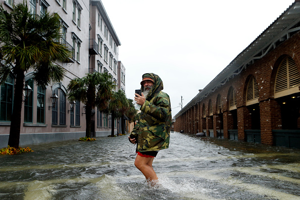 Charleston - South Carolina「Hurricane Matthew Bears Down On Atlantic Coast」:写真・画像(6)[壁紙.com]