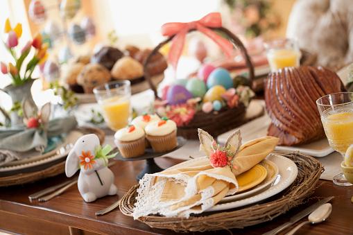 Easter Basket「Easter Dining」:スマホ壁紙(1)