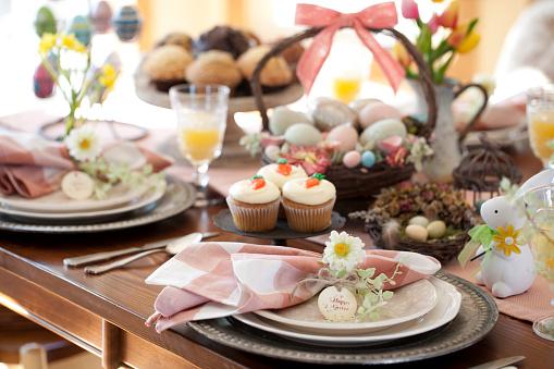 Easter Basket「Easter Dining」:スマホ壁紙(0)