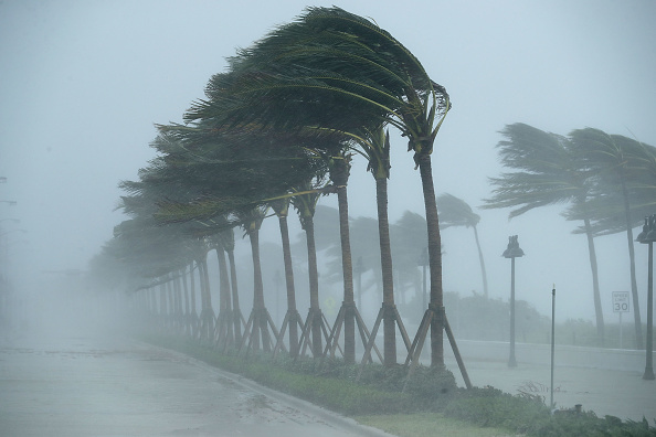 Hurricane - Storm「Powerful Hurricane Irma Slams Into Florida」:写真・画像(0)[壁紙.com]