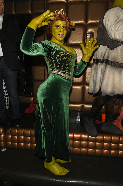 Sponsor「Heidi Klum's 19th Annual Halloween Party Sponsored By SVEDKA Vodka And Party City At Lavo NYC」:写真・画像(18)[壁紙.com]