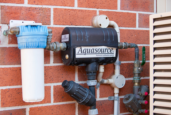 Environmental Conservation「An aquasource pump on a house in Sydney. The system pumps rain water collected off the house roof and stored in an underground tank for use in flushing toilets.」:写真・画像(19)[壁紙.com]
