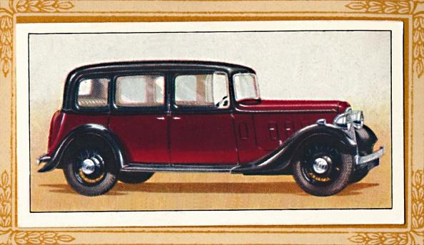 Cigarette Card「Austin Sixteen York Saloon, C1936」:写真・画像(12)[壁紙.com]