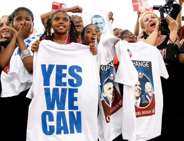 Hope - Concept「Barack Obama Holds Campaign Rally In Las Vegas」:写真・画像(14)[壁紙.com]