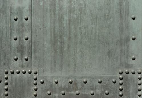 Push Button「Verdigris background with rivets (3XL)」:スマホ壁紙(6)