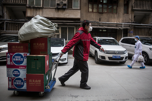 Hubei Province「Daily Life In Wuhan During Lockdown」:写真・画像(19)[壁紙.com]