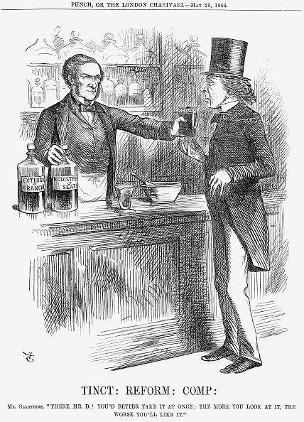 Mortar and Pestle「'Tinct: Reform: Comp:', 1866. Artist: John Tenniel」:写真・画像(19)[壁紙.com]