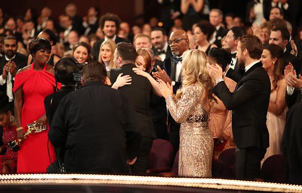 ラ・ラ・ランド「89th Annual Academy Awards - Backstage」:写真・画像(11)[壁紙.com]