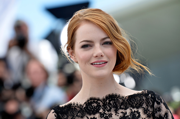 "Emma Stone「""Irrational Man"" Photocall - The 68th Annual Cannes Film Festival」:写真・画像(11)[壁紙.com]"