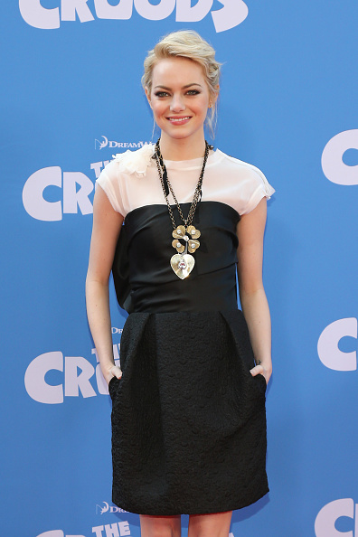 "Emma Stone「""The Croods"" New York Premiere」:写真・画像(7)[壁紙.com]"