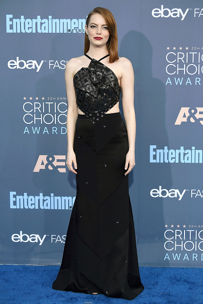Emma Stone「The 22nd Annual Critics' Choice Awards - Arrivals」:写真・画像(5)[壁紙.com]