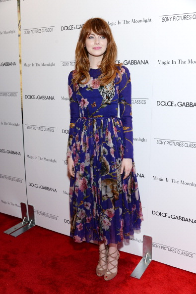 "Emma Stone「""Magic In The Moonlight"" New York Premiere - Arrivals」:写真・画像(13)[壁紙.com]"