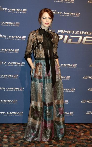 Emma Stone「'The Amazing Spider-Man 2: Rise Of Electro' - Rome Premiere」:写真・画像(18)[壁紙.com]
