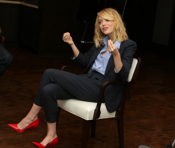 "Emma Stone「""The Amazing Spider-Man 2"" Fan Event」:写真・画像(15)[壁紙.com]"