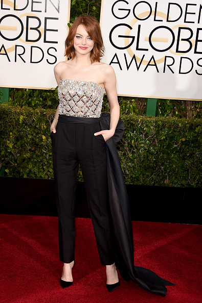 Emma Stone「72nd Annual Golden Globe Awards - Arrivals」:写真・画像(1)[壁紙.com]