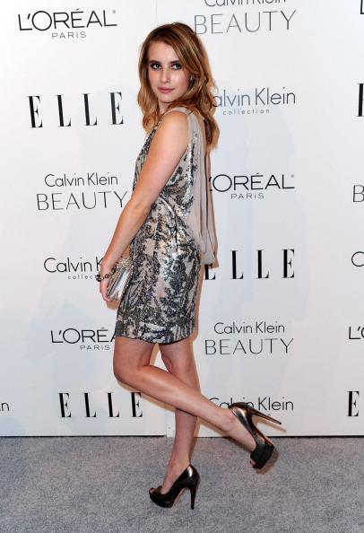 Silver Colored「ELLE's 17th Annual Women In Hollywood Tribute - Arrivals」:写真・画像(9)[壁紙.com]