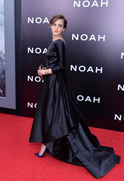 エマ・ワトソン「New York Premiere of Paramount Pictures' 'Noah'」:写真・画像(9)[壁紙.com]
