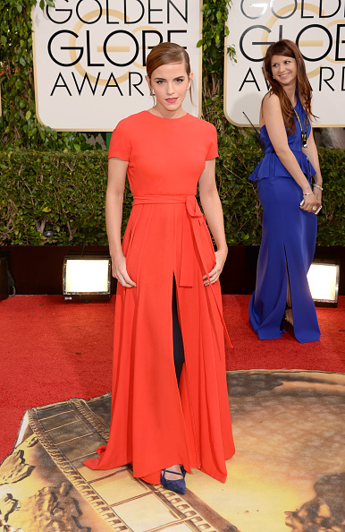 エマ・ワトソン「71st Annual Golden Globe Awards - Arrivals」:写真・画像(12)[壁紙.com]