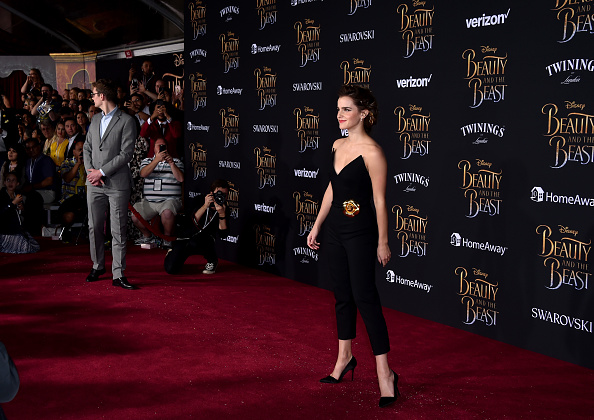 エマ・ワトソン「Premiere Of Disney's 'Beauty And The Beast' - Arrivals」:写真・画像(18)[壁紙.com]