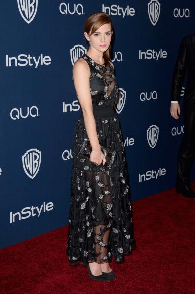 エマ・ワトソン「2014 InStyle And Warner Bros. 71st Annual Golden Globe Awards Post-Party - Arrivals」:写真・画像(9)[壁紙.com]