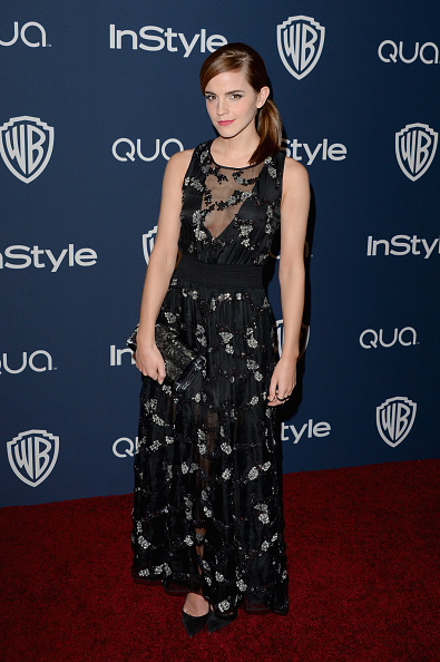 エマ・ワトソン「2014 InStyle And Warner Bros. 71st Annual Golden Globe Awards Post-Party - Arrivals」:写真・画像(15)[壁紙.com]