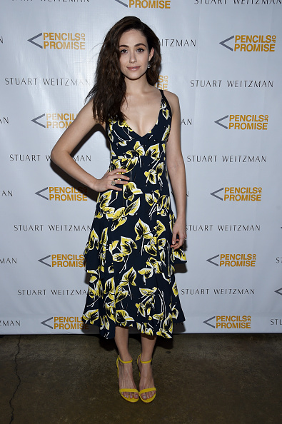 Emmy Rossum「Stuart Weitzman Launches Partnership With Pencils Of Promise - Arrivals」:写真・画像(8)[壁紙.com]