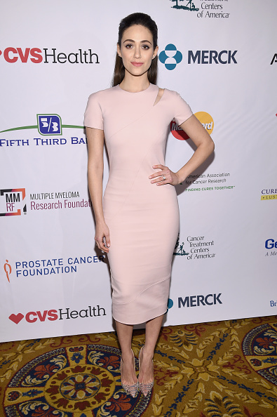 エミー・ロッサム「Entertainment Industry Foundation Presents Stand Up To Cancer's New York Standing Room Only Event With Donors American Airlines, Mastercard And Merck - Red Carpet」:写真・画像(16)[壁紙.com]